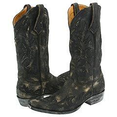 Old Gringo Derrotado Black Boots