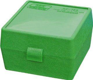 Ammo Box .17, .222, 223, 6x47, .222 Mag (Green): Sports & Outdoors