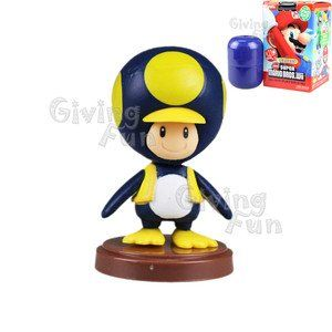 Super Mario Bros Penguin Toad Mini Figure Toys & Games