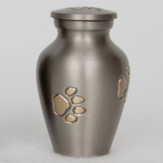 Star Legacys Keepsake Golden Paw Print Small Pet Urn Today $34.99 5