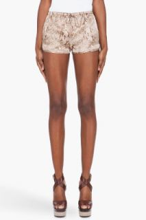 Haute Hippie Drawstring Silk Shorts for women