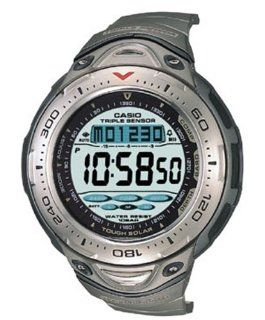 Casio Mens SPF70T 7V Sea Pathfinder Solar Titanium Watch Watches