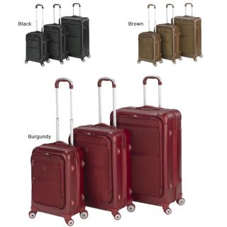 Heys USA Signature 3 piece Lightweight Hybrid Luggage Set