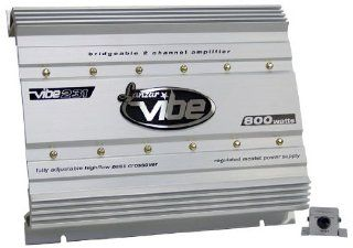 Lanzar VIBE231 Vibe 800 Watt 2 Channel Mosfet Amplifier