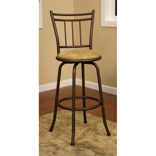 Corona Topaz Metal Counter Stool