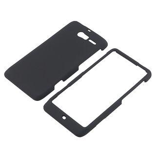 BasAcc Black Rubber Coated Case for Motorola Droid Razr M XT907