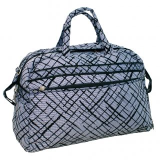 Jenni Chan Womens Brush Strokes Carry On Soft Gym Duffel Bag Today $