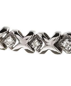 10k Gold 1/2ct TDW Diamond Tennis Bracelet (H I, I2 3)
