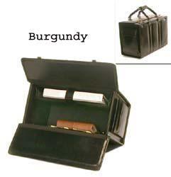 Bond Street Double Handle Leather Catalog Case