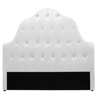 Tête de lit capitonnée 180 cm PU Blanc SULTAN   Un style particulier