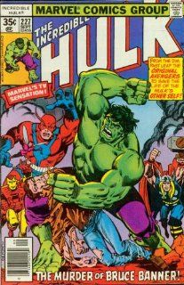 The Incredible Hulk #227 The Murder of Bruce Banner