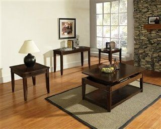 Steve Silver Manor Dark Oak Coffee Table And End Table 3