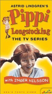 Pippi Longstocking [VHS] Inger Nilsson, Maria Persson