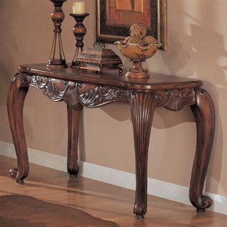 Shell and Leaf Sofa Table by Coaster: Furniture & Decor