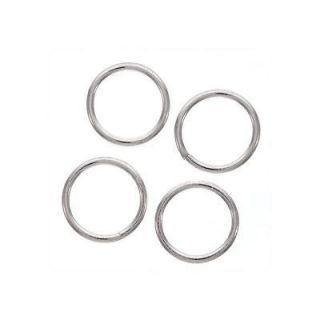 Sterling Silver Heavy 14 mm 14 gauge Open Jump Rings (Case of 8
