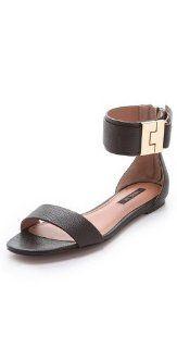 Rachel Zoe Gladys Flat Sandals Shoes