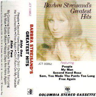 Barbra Streisands Greatest Hits Music