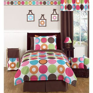 Sweet JoJo Designs Deco Dot 4 piece Twin Bedding Set Today $99.99 2