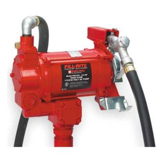 Fill Rite FR310V Fuel Transfer Pump, 3/4 HP, Up to 35 GPM