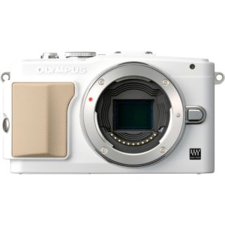 Olympus PEN E PL5 16.1MP White Mirrorless Digital SLR Camera (Body