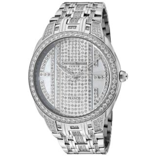 Christian Bernard Womens City Light Stainless Steel Watch