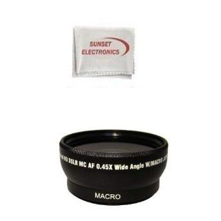 Extra large Wide Angle Lens With Macro lens For The Sony