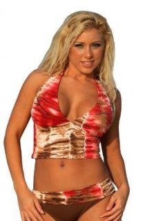 SALE F236 Lava Lava Banded Bikini BOTTOM and TOP Size LL