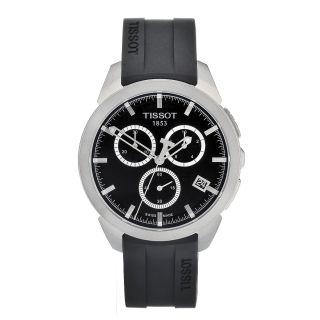 Tissot Mens Titanium Black Dial Watch