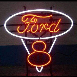 Neon Signs Ford V8 Neon Sign