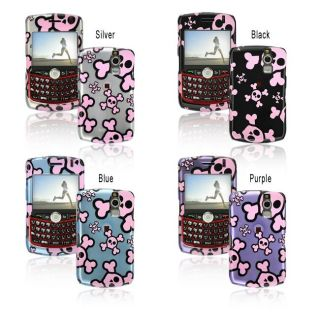 Pink Skull BlackBerry Curve 8300/ 8330 Protector Case