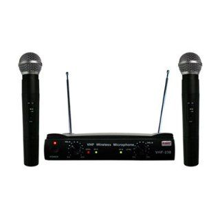 RSQ VHF 238 Professional Dual Channel VHF Wireless