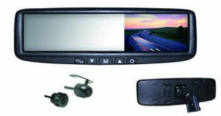BOYO VTB44MC 4.3 Inch Digital LCD Rear View Mirror Monitor