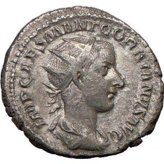 GORDIAN III 239AD Liberalitas Ancient Silver Roman Coin
