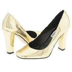Steve Madden Myra Gold Metallic Pumps/Heels