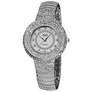 Burgi Womens Diamond Accent Crystal Fashion Watch