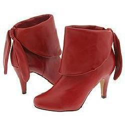 Steve Madden Flirts Red Leather Boots