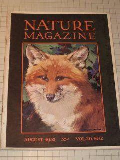 1932 Nature Magazine   Fox Cover   Blacktail & Mule Deer   A Modern