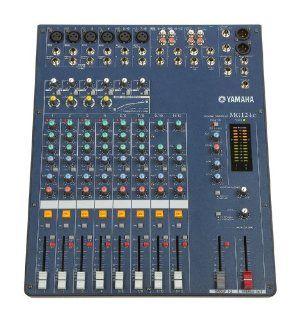 Yamaha MG124C 12 Input Stereo Mixer Musical Instruments