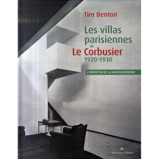 Les villas parisiennes de Le Corbusier 1920 193  Achat / Vente
