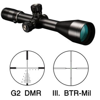 Bushnell Elite Tactical 6 24x50mm Matte Black Tactical Rifle Scope