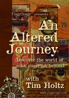 Ranger Tim Holtz DVD, An Altered Journey Arts, Crafts