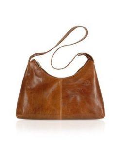 Chiarugi Handmade Brown Genuine Italian Leather Hobo Bag