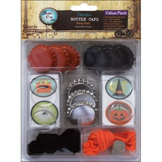 Vintage Collection Halloween Value Party Pack Bottle Caps