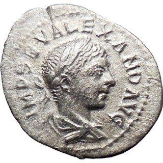 SEVERUS ALEXANDER 228AD Silver Ancient Roman Coin Crisis