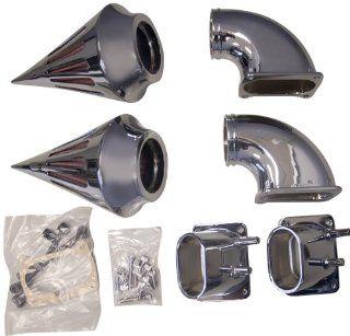 Yana Shiki ACK 236 CHR Chrome Metric Cruiser Air Cleaner Kit for