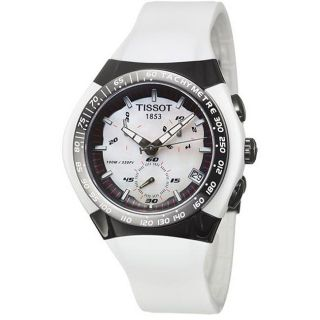 Tissot Mens T Sport T Tracx Stainless Steel Rubber Watch