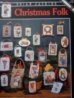 Christmas Folk Cross Stitch #243: Brian Jackins: Books