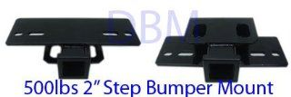 5000lbs 2 Step Bumper Hitch Mount Receiver
