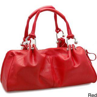 Dasein Designer Inspired Shoulder Bag with Dual Handles