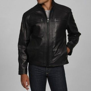 Marc New York Mens Boston Leather Jacket FINAL SALE